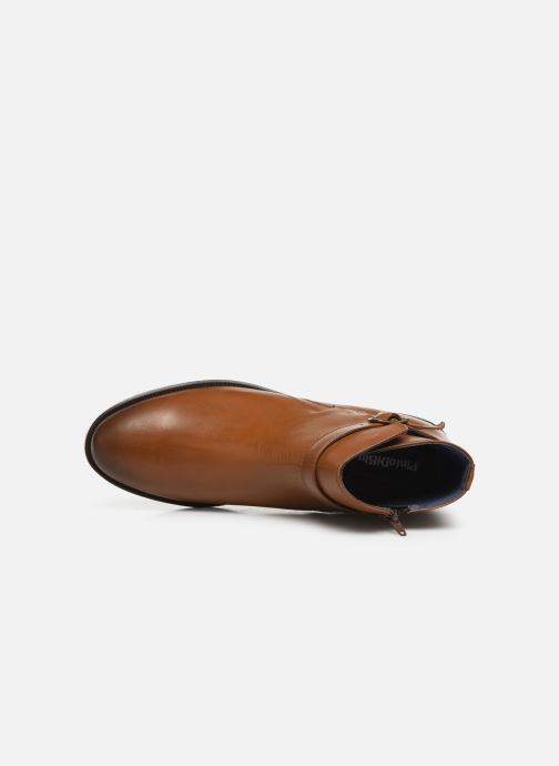 Ankle boots PintoDiBlu 74184 Brown view from the left