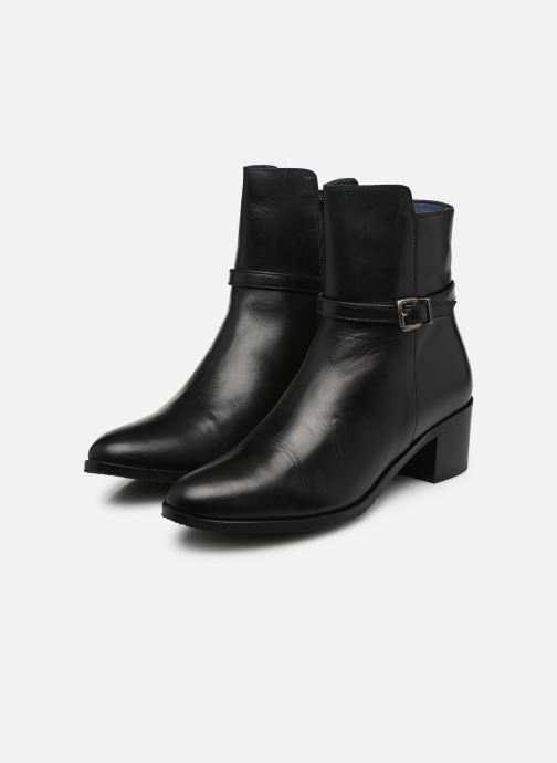 Ankle boots PintoDiBlu 9857 Black view from underneath / model view