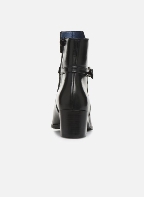 Ankle boots PintoDiBlu 9857 Black view from the right