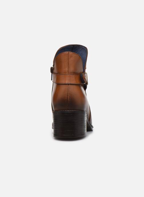 Bottines et boots PintoDiBlu 81990 Marron vue droite