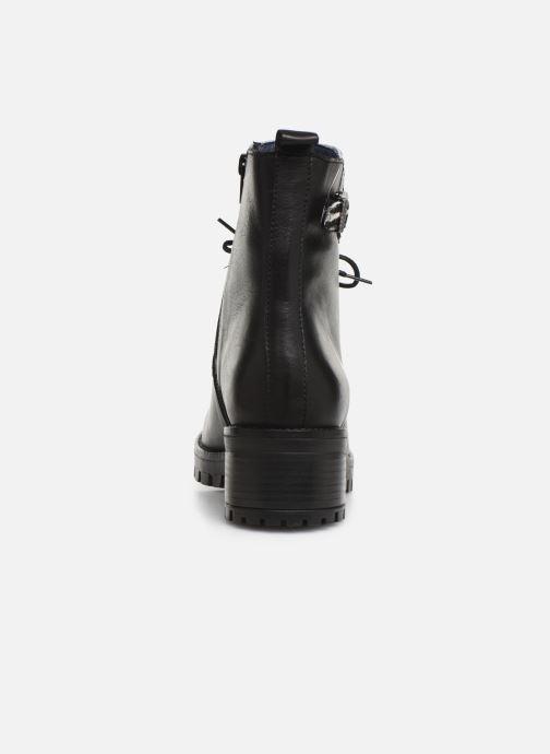 Boots en enkellaarsjes PintoDiBlu 81663 Zwart rechts
