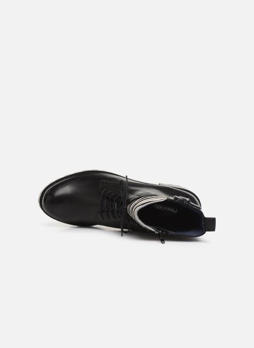 Boots en enkellaarsjes PintoDiBlu 81663 Zwart links