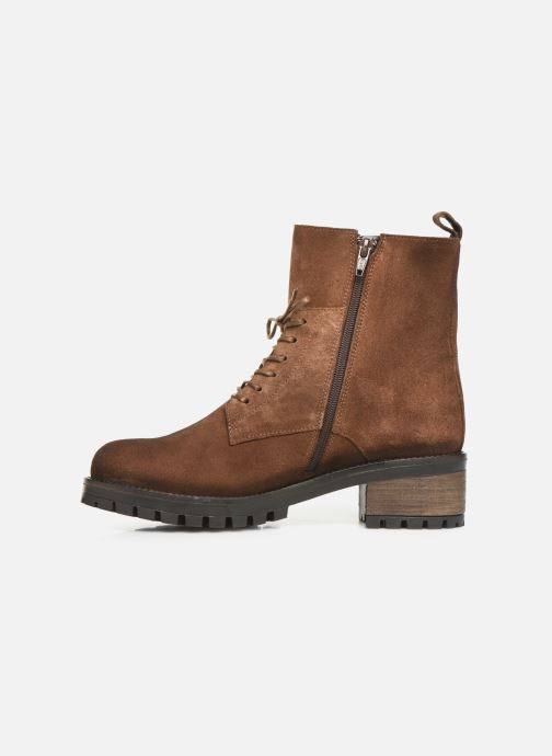 Bottines et boots PintoDiBlu 81664 Marron vue face