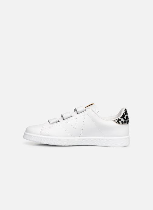 Sneakers Victoria Deportivo Velcros Animal Print Bianco immagine frontale