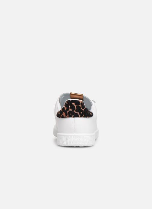 Sneakers Victoria Deportivo Velcros Animal Print Wit rechts