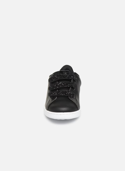 Baskets Victoria Deportivo Velcros Glitter Noir vue portées chaussures