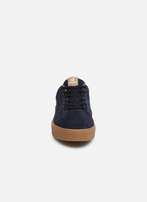 Baskets Victoria Utopia Serraje Bleu vue portées chaussures