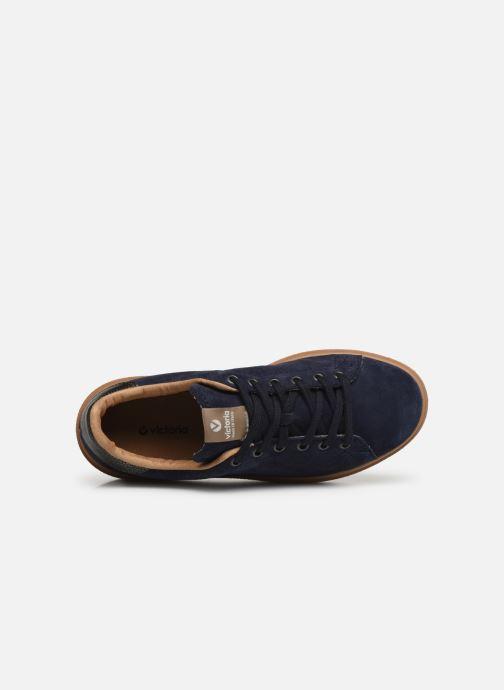 Sneakers Victoria Utopia Serraje Azzurro immagine sinistra