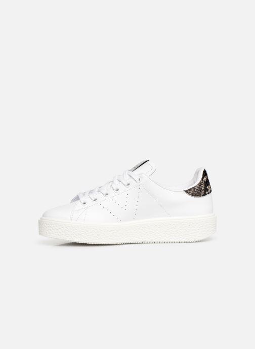 Sneaker Victoria Utopia Piel weiß ansicht von vorne