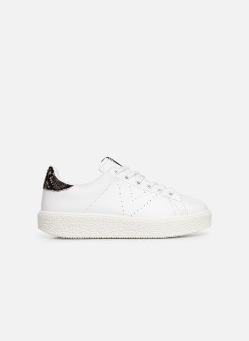 Sneaker Victoria Utopia Piel weiß ansicht von hinten