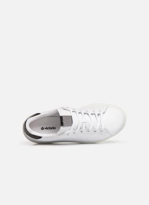 Sneaker Victoria Utopia Piel weiß ansicht von links