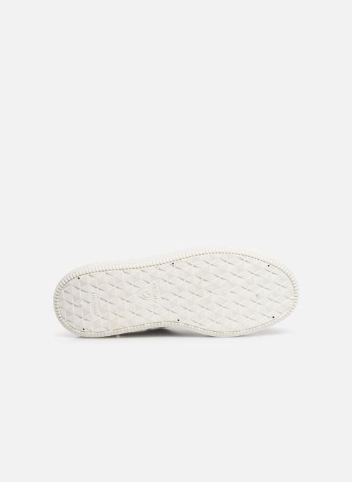 Sneaker Victoria Utopia Piel weiß ansicht von oben