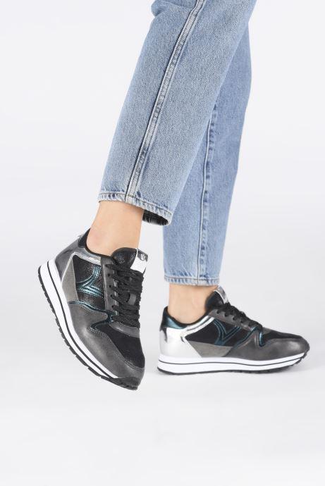 Sneakers Victoria Cometa Metalizado Nero immagine dal basso