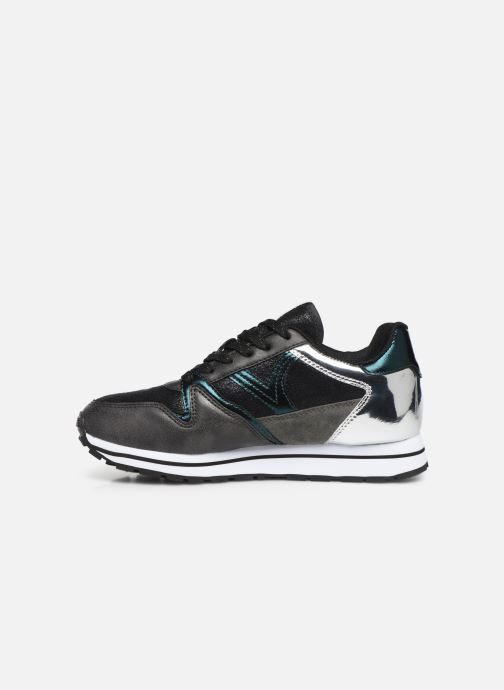 Sneakers Victoria Cometa Metalizado Nero immagine frontale