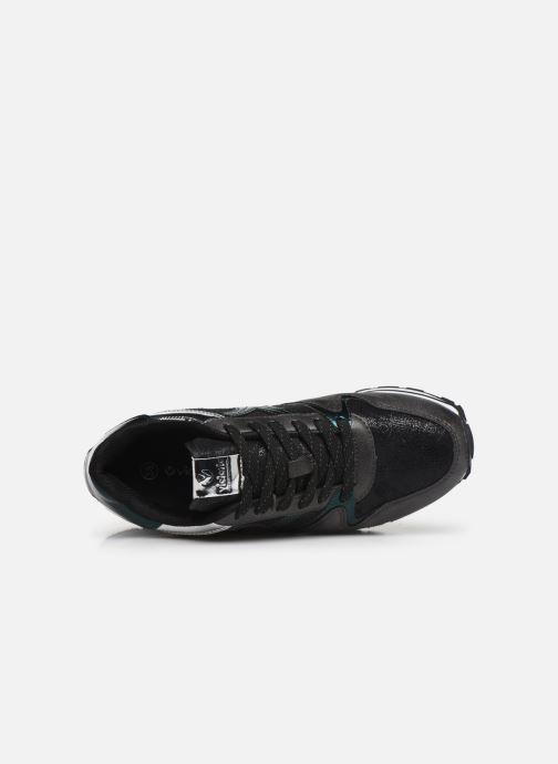 Sneakers Victoria Cometa Metalizado Nero immagine sinistra