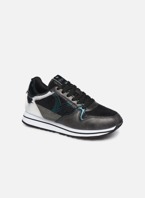 Sneakers Victoria Cometa Metalizado Sort detaljeret billede af skoene