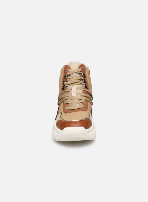 Baskets Victoria Totem Bota Marron vue portées chaussures
