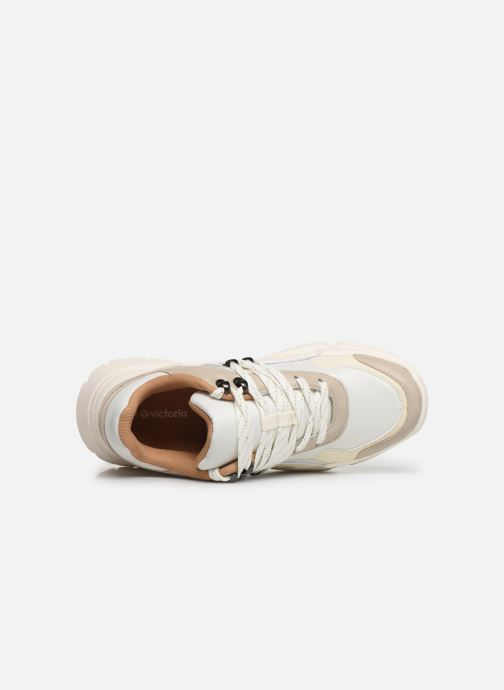 Sneaker Victoria Totem weiß ansicht von links