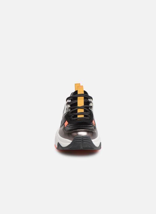 Baskets Victoria Aire Multicolor Metal Noir vue portées chaussures