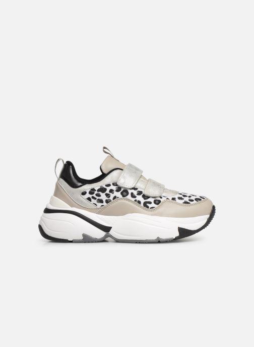 Sneaker Victoria Aire Velcros Animal Print grau ansicht von hinten