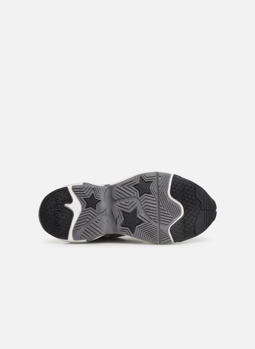 Sneaker Victoria Aire Velcros Animal Print grau ansicht von oben