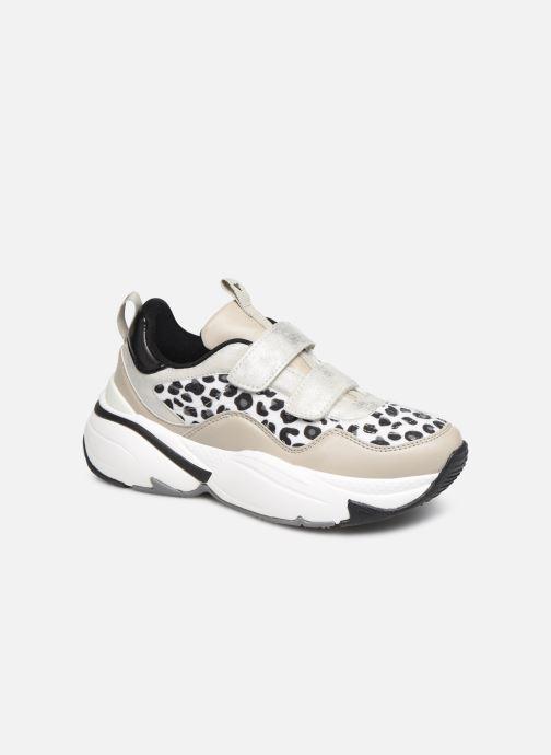 Sneakers Victoria Aire Velcros Animal Print Grijs detail