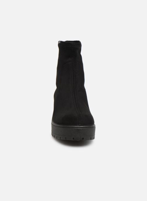 Bottines et boots Victoria Atalaia Antelina Elastic Noir vue portées chaussures