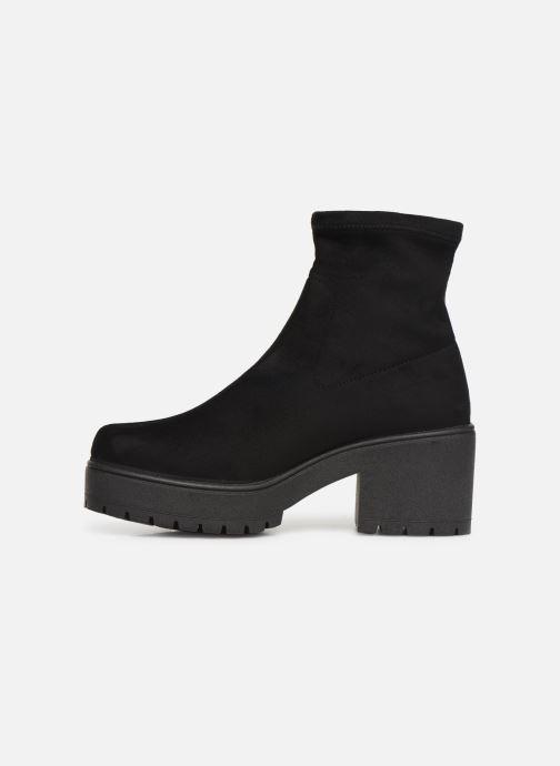 Boots en enkellaarsjes Victoria Atalaia Antelina Elastic Zwart voorkant