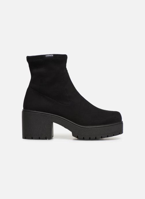 Boots en enkellaarsjes Victoria Atalaia Antelina Elastic Zwart achterkant