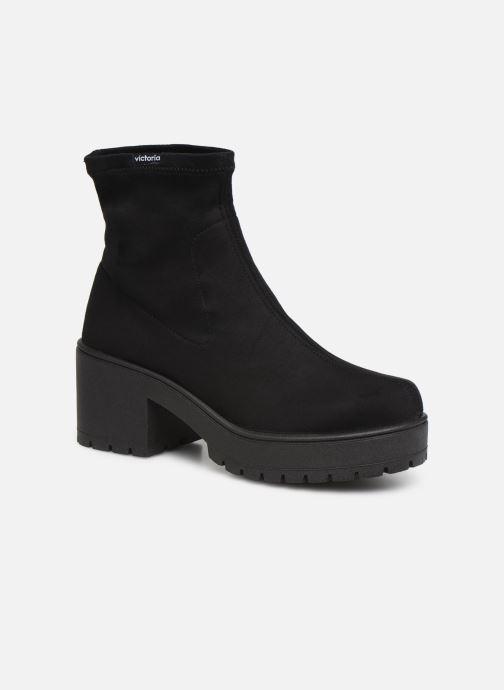Bottines et boots Victoria Atalaia Antelina Elastic Noir vue détail/paire
