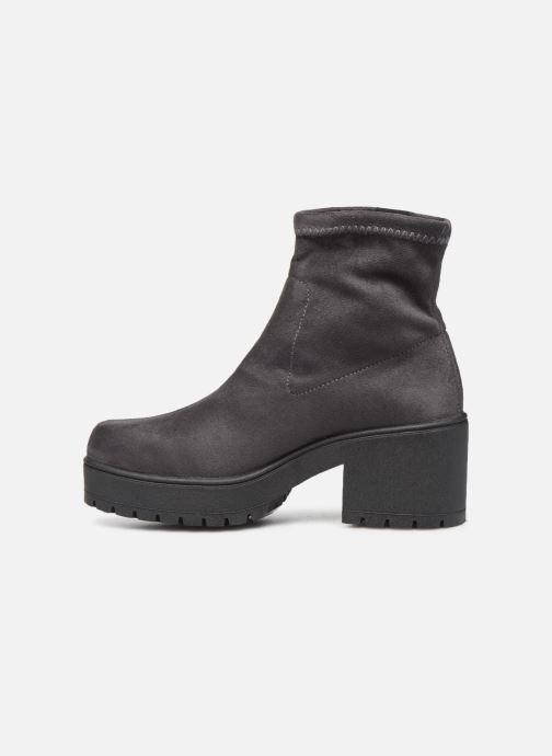 Boots en enkellaarsjes Victoria Atalaia Antelina Elastic Grijs voorkant