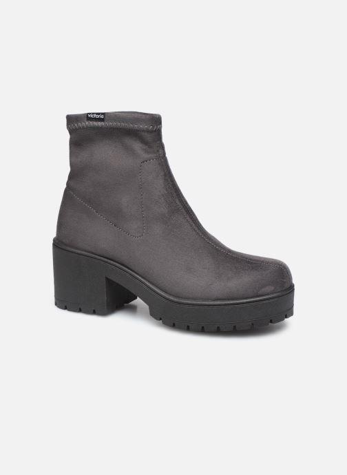 Bottines et boots Victoria Atalaia Antelina Elastic Gris vue détail/paire
