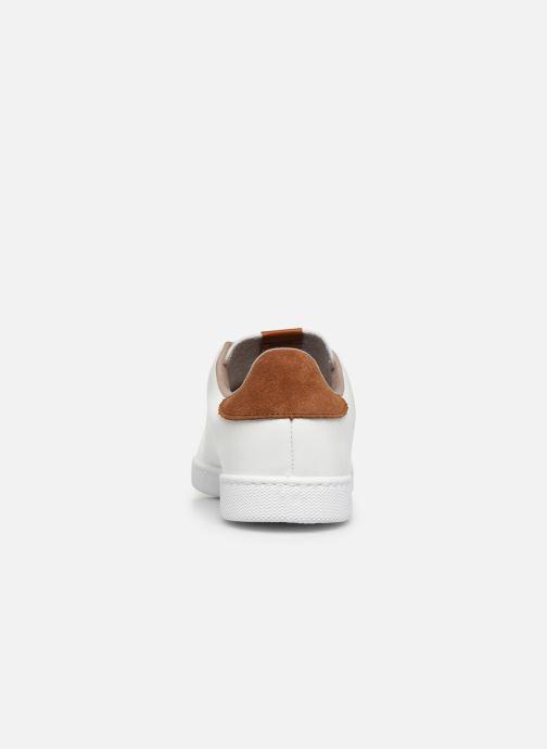 Sneakers Victoria Deportivo Velcros Serraje Wit rechts