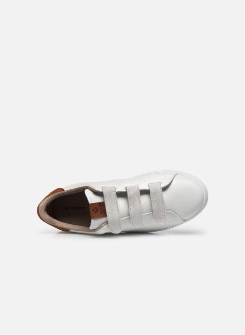 Sneakers Victoria Deportivo Velcros Serraje Wit links
