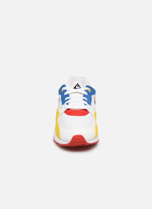 Baskets Le Coq Sportif LCS X BIG FLO & OLI - R800 Ps X Visionnaire Multicolore vue portées chaussures