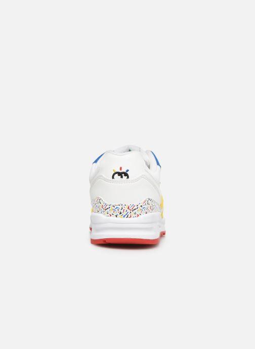 Baskets Le Coq Sportif LCS X BIG FLO & OLI - R800 Ps X Visionnaire Multicolore vue droite