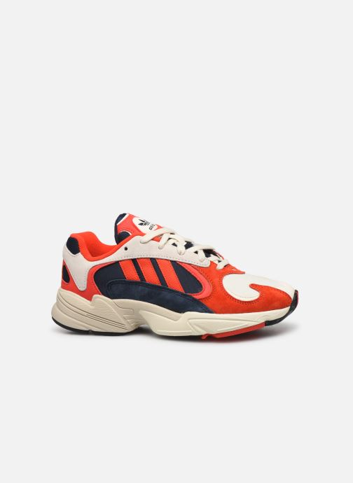 Trainers adidas originals Yung-1 W Red back view