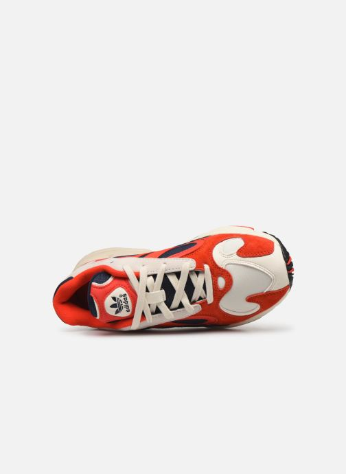 Baskets adidas originals Yung-1 W Rouge vue gauche