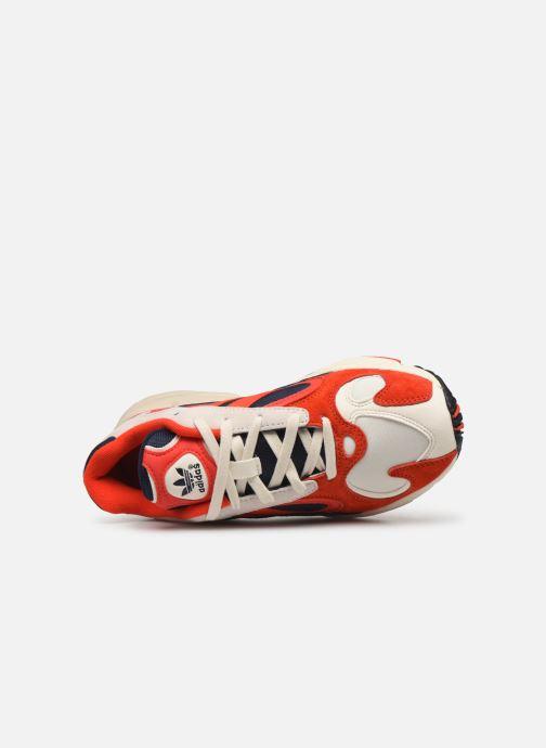 Deportivas adidas originals Yung-1 W Rojo vista lateral izquierda