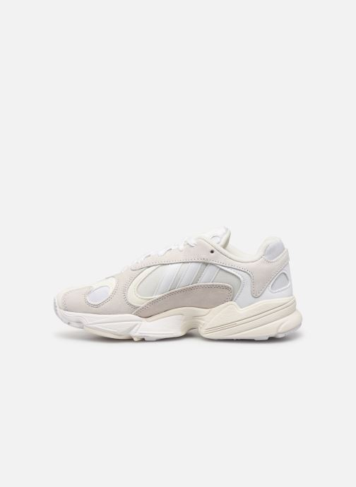 Trainers adidas originals Yung-1 W White front view