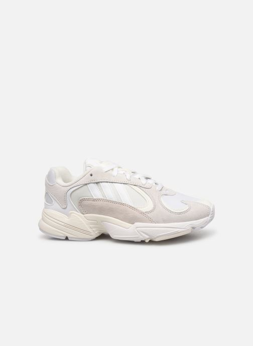Sneakers adidas originals Yung-1 W Wit achterkant