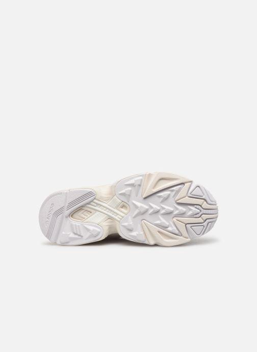 Baskets adidas originals Yung-1 W Blanc vue haut