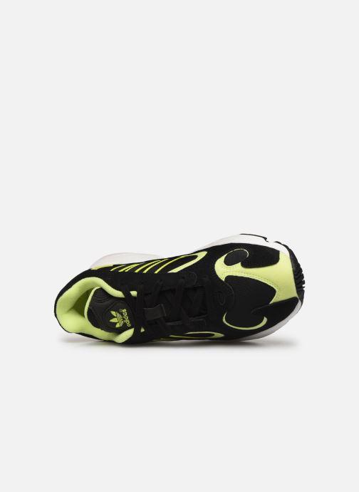 Baskets adidas originals Yung-1 W Noir vue gauche