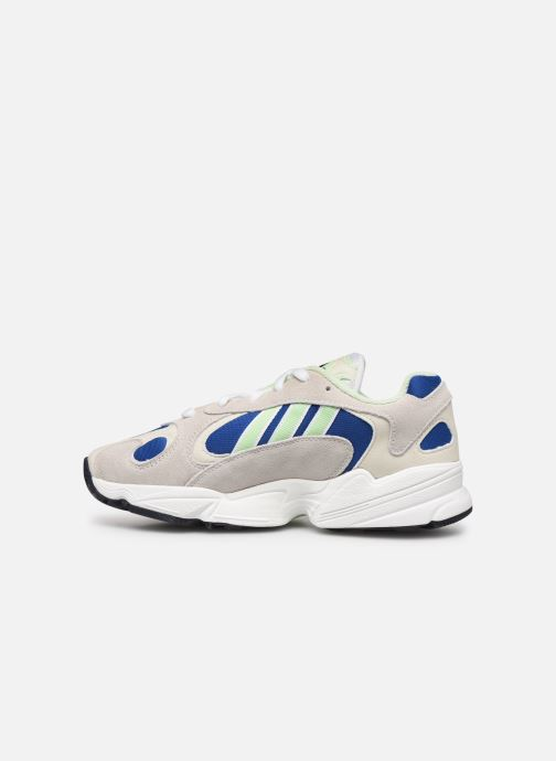 Baskets adidas originals Yung-1 W Gris vue face