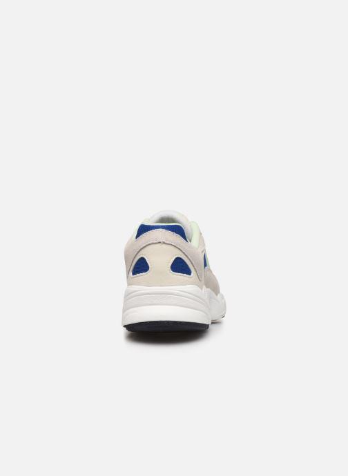Baskets adidas originals Yung-1 W Gris vue droite