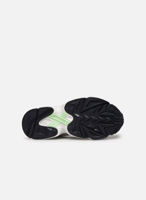 Baskets adidas originals Yung-1 W Gris vue haut