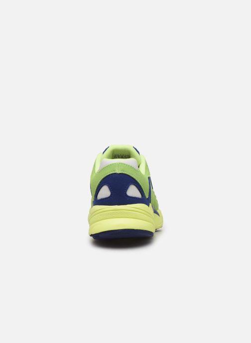 Baskets adidas originals Yung-1 W Vert vue droite