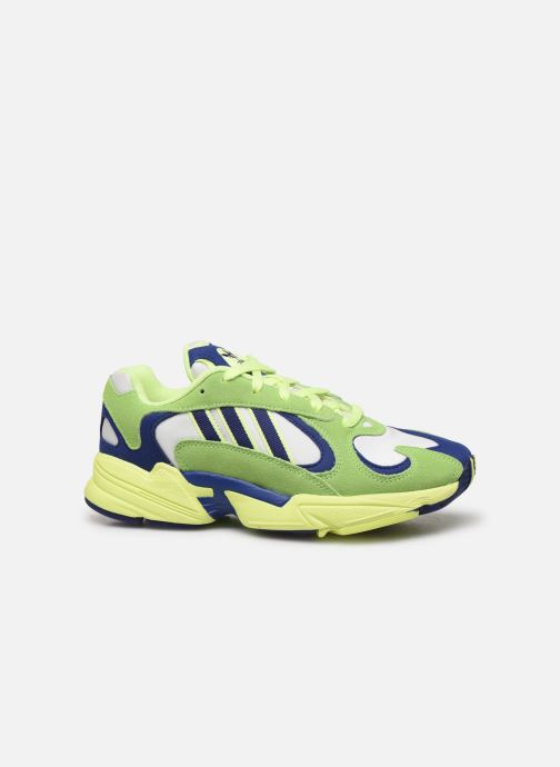 Trainers adidas originals Yung-1 W Green back view