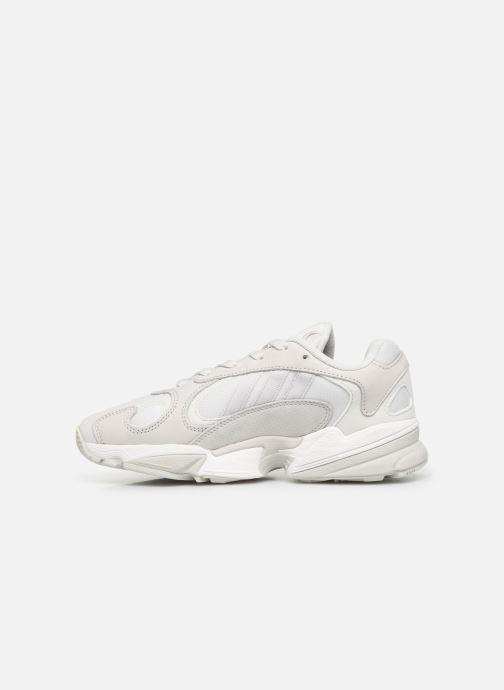 Sneaker adidas originals Yung-1 W weiß ansicht von vorne