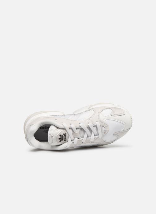 Deportivas adidas originals Yung-1 W Blanco vista lateral izquierda